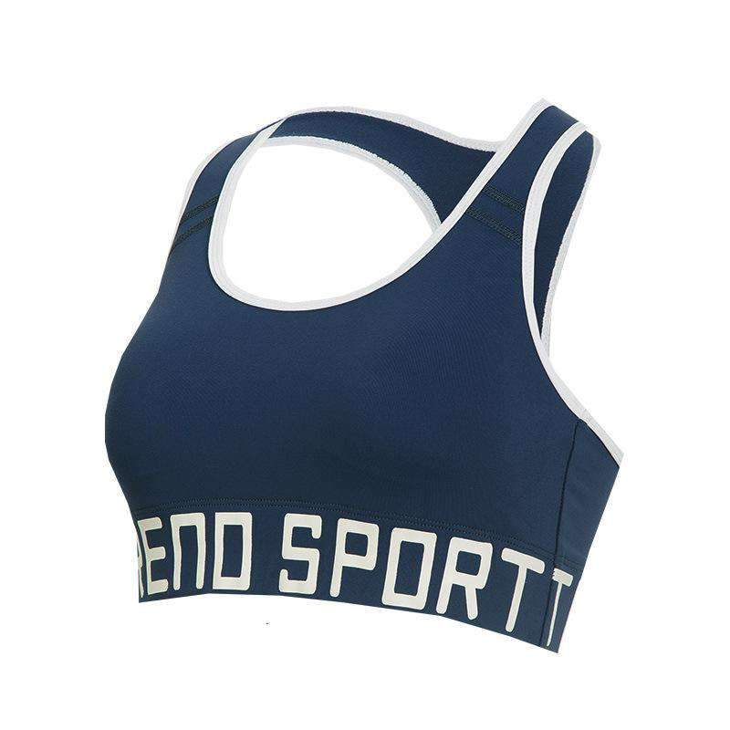 335a1f7c25 Gather Style Sports And Yoga Without Steel And Seamless Vest Bra ...