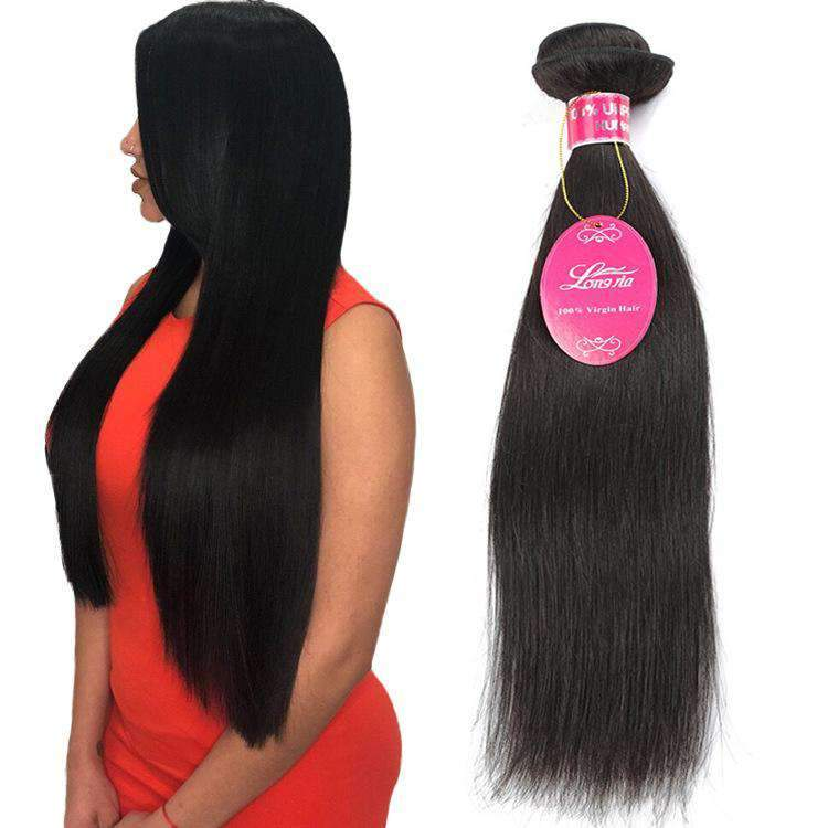 Brazilian Straight Wave Human Hair 3 Bundles