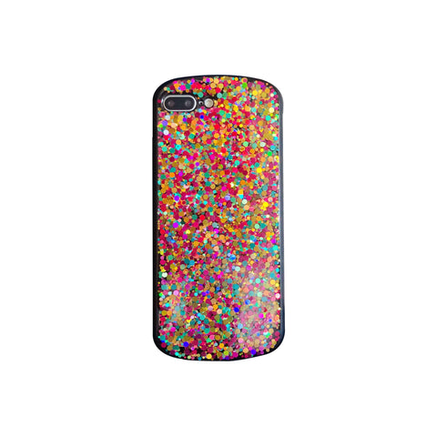 Glitter Colored Sequins Detail Phone Case for Samsung gallery 5