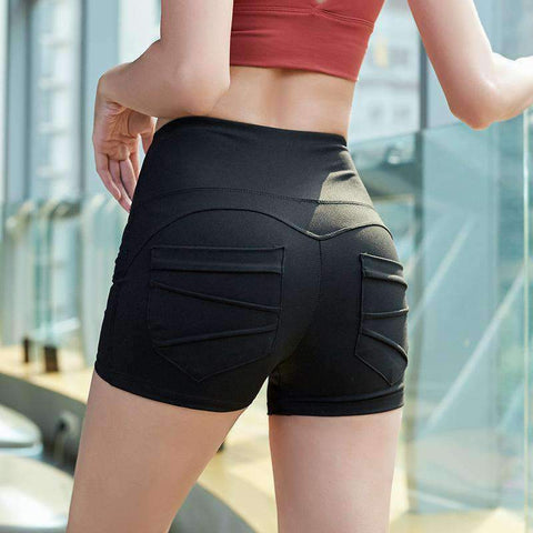 Breathable High Elasticity Fitness Sports Yoga Shorts gallery 2