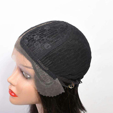 Bob Wave Slightly Human Hair with Lace Front gallery 5