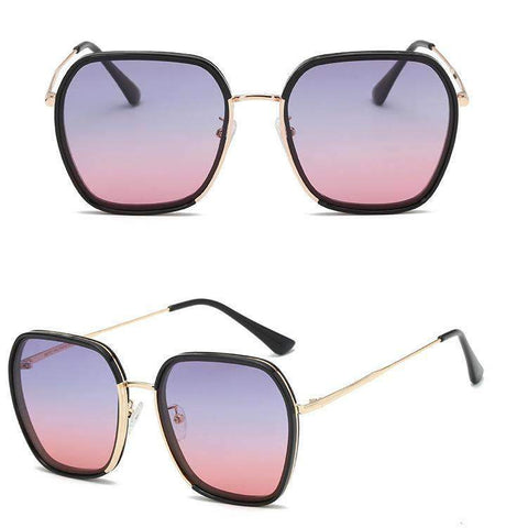 Classic Design Polarized With Wire Side Sunglasses gallery 4