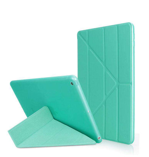 Solid Color Apple iPad Cover Case with Capacitive Pen gallery 2