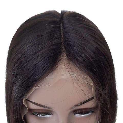 Brazilian Human Hair Straight Bob Wave with Lace Front gallery 5