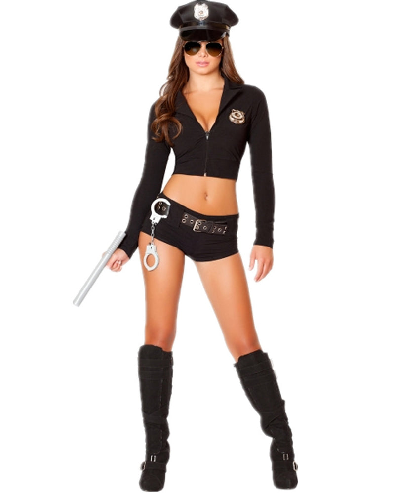 Zip Up Police Costume Set