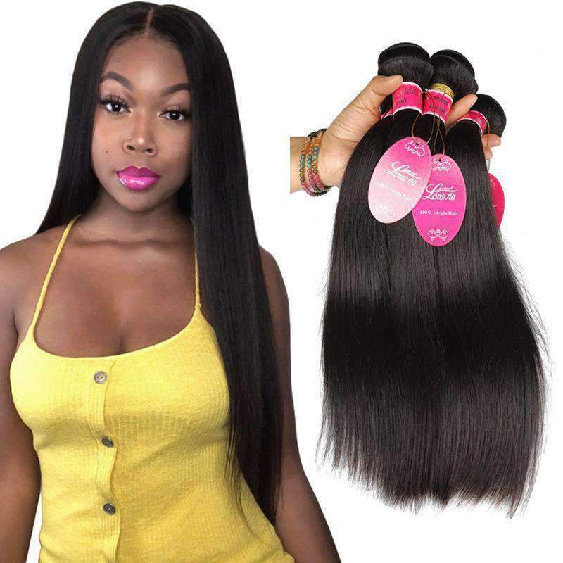 Brazilian Straight Wave Hair Virgin Hair 3Bundles