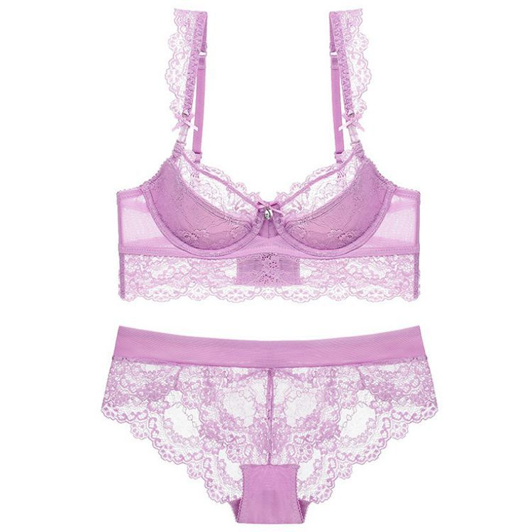 Perfectly Fit Lace Side Support Minimiser Bra & Panty Set