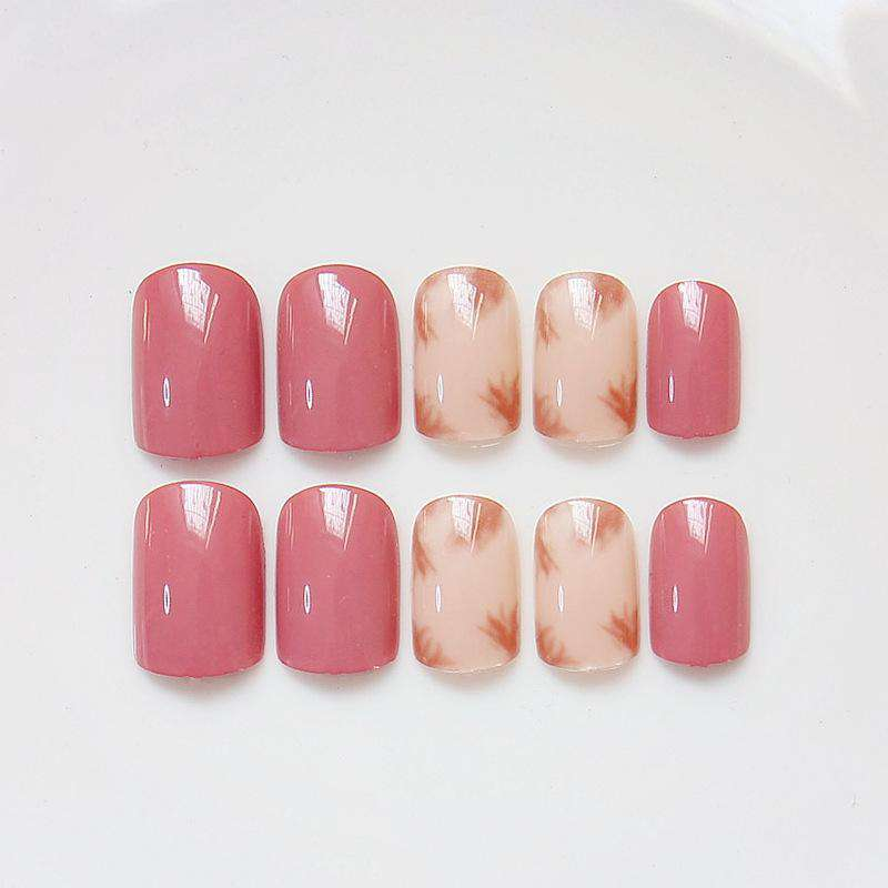 Maple Spring Magic Press On Nail Manicure