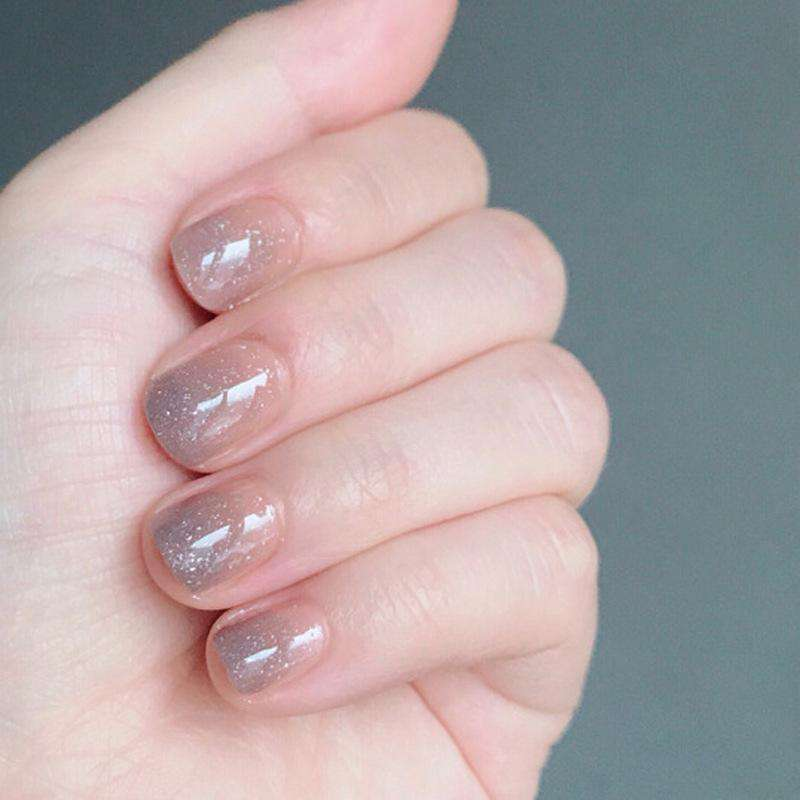 Milky Way Magic Press On Nail Manicure