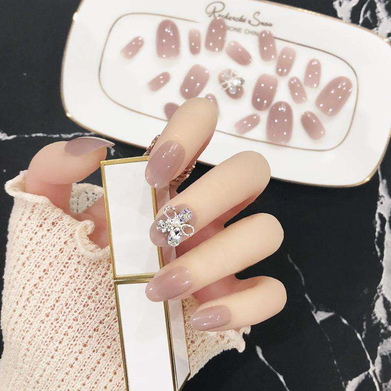 Glitter Star Magic Press On Nail Manicure