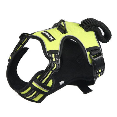 Reflective Vest Harness Dog Chest Strap for Medium Sized & Large Dogs