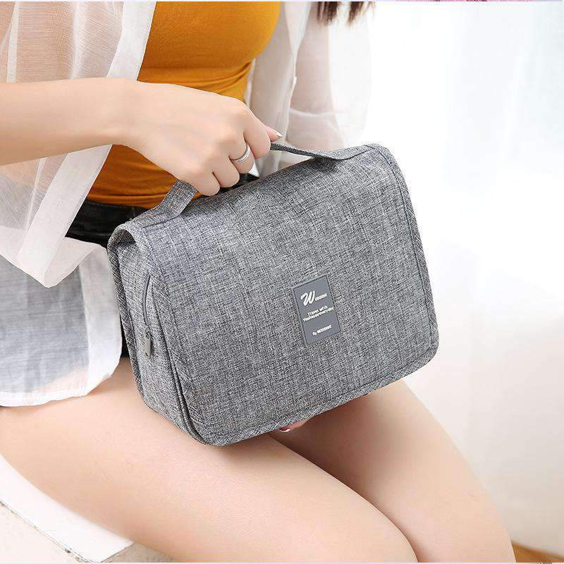 Canvas Waterproof Travel Bag with Handle