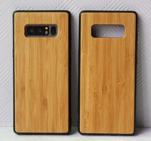 Contracted Wooden Full Cover Phone Case for Samsung