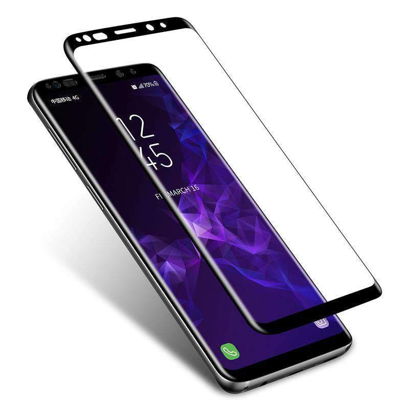 Curved Surface Anti-Peeping Full Cover Tempered Glass for Samsung