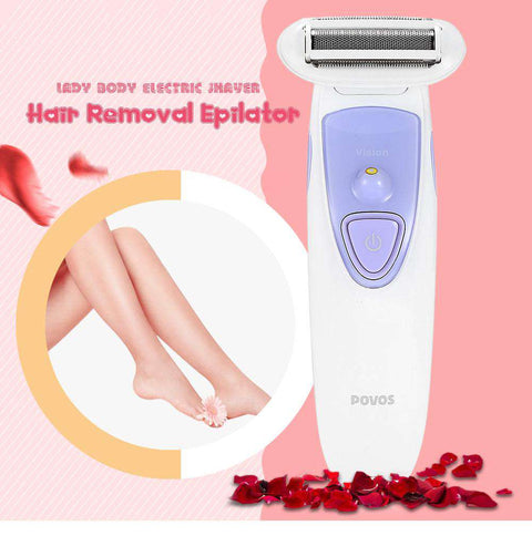 Lady Body Electric Shaver Hair Removal Rechargeable Epilator gallery 6