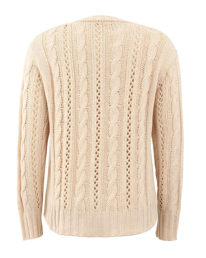 Chunky Knit Button Front Sweater gallery 7