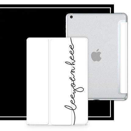 Contracted Literary Letter Printed Apple iPad Cover Case gallery 4