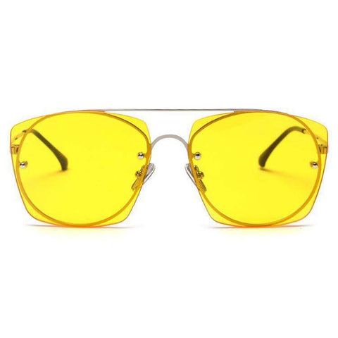 Chic Candy Color Square Shape Lens Street Fashion Sunglasses gallery 7