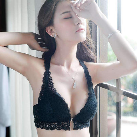 Front Hasp Sexy Lace Lingerie Set gallery 5