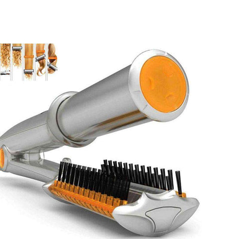2 in 1 Anion Automatic Hair Curler Straightener gallery 2