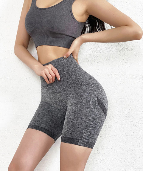 Beauty Contour Butt Lifting Fitness Sports Shorts gallery 13