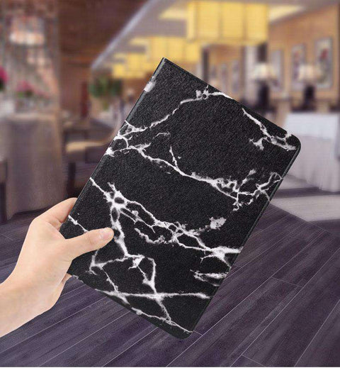 Vintage Marble Texture Stand Flip Tablet Case Cover for Apple iPad gallery 3