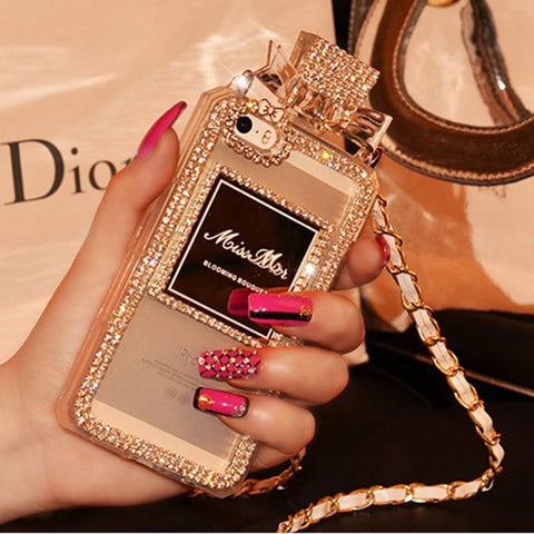 Luxury Perfume Design iPhone Case with Hand Strap gallery 7