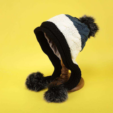 Women's Winter Cute Assorted Color Warm Thick Hat gallery 6