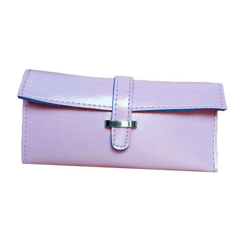 New Fashion Women Long Purse Soft PU Leather Strap Candy Color Wallet Card Holder Clutch Bag gallery 6