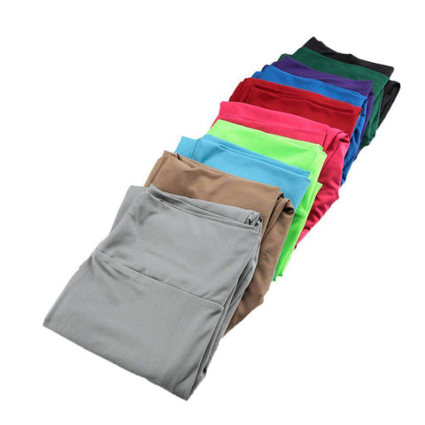 Fashion Women Leggings Fitness Candy Color Elastic Waist Stretchy Yoga Sport  Running Pants Trousers gallery 5