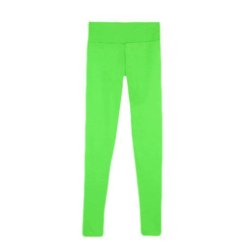 Fashion Women Leggings Fitness Candy Color Elastic Waist Stretchy Yoga Sport  Running Pants Trousers gallery 8