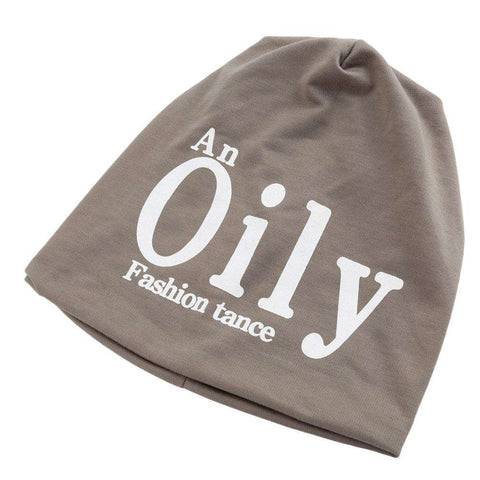 New Fashion Unisex Beanie Wrap Hat Letter Print Candy Color Sleep Turtleneck Cap gallery 3