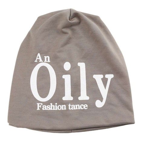 New Fashion Unisex Beanie Wrap Hat Letter Print Candy Color Sleep Turtleneck Cap gallery 1
