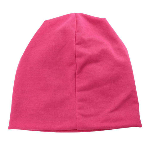 New Fashion Unisex Beanie Wrap Hat Letter Print Candy Color Sleep Turtleneck Cap gallery 12