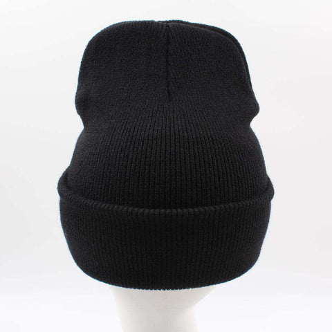 Women Men Rose Embroidery Savage Beanie Hats Embroidered Flower Knitted Caps Warm Outdoors Skullies Caps gallery 4