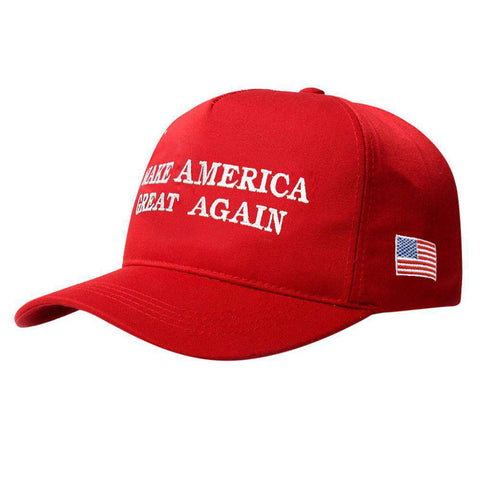 Make America Great Again Adjustable Baseball Cap with Embroidery Unisex Flag Cotton Hats Letter Sport Gorras Casquette (White Without Flag) gallery 21