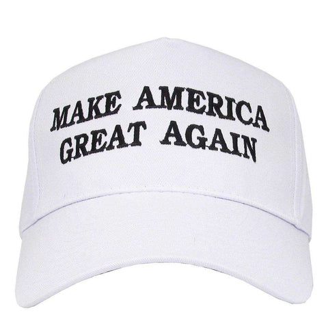 Make America Great Again Adjustable Baseball Cap with Embroidery Unisex Flag Cotton Hats Letter Sport Gorras Casquette (White Without Flag) gallery 5