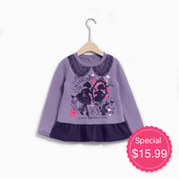 Dream World Princess Purple Popover