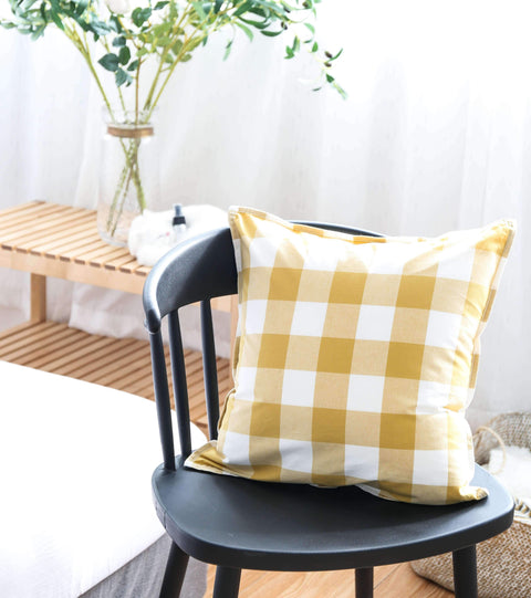 Gingham Check Cushion gallery 2