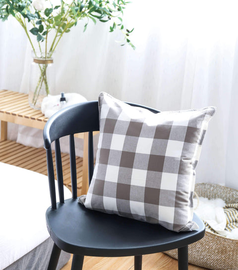 Gingham Check Cushion gallery 3