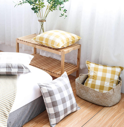 Gingham Check Cushion gallery 4