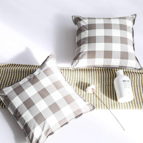 Gingham Check Cushion gallery 1