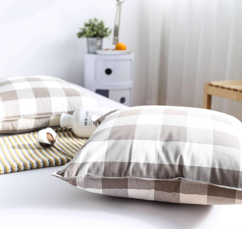 Gingham Check Cushion gallery 6