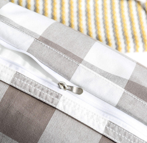Gingham Check Cushion gallery 7