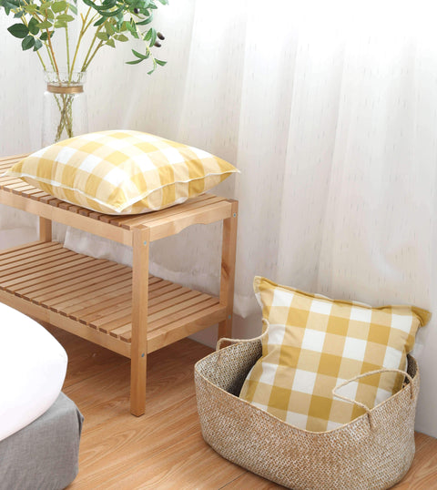 Gingham Check Cushion gallery 8