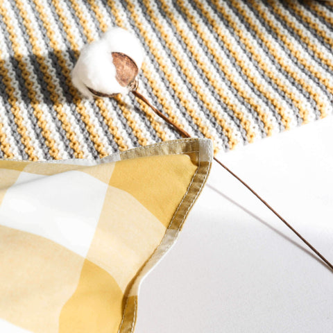 Gingham Check Cushion gallery 9