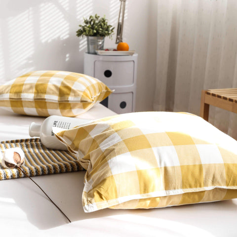 Gingham Check Cushion gallery 10