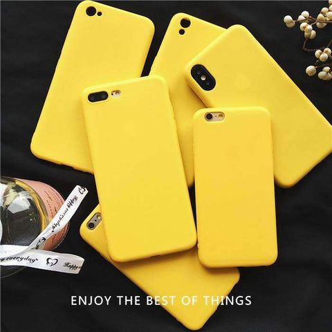 Contracted Lemon Yellow Phone Case for Samsung