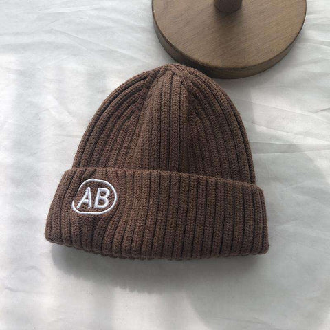 Winter Student Knitted Cap gallery 1