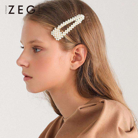 Chic Pearl Hairpin gallery 6